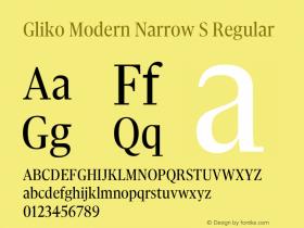 Gliko Modern Narrow S