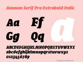 Amman Serif Pro