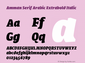 Amman Serif Arabic