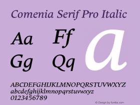 Comenia Serif Pro