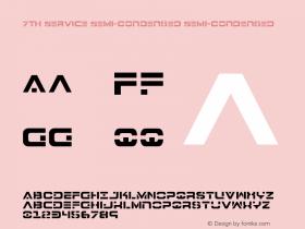 7th Service Semi-Condensed
