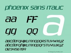 Phoenix Sans