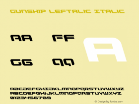 Gunship Leftalic