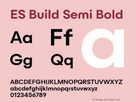 ES Build