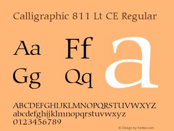 Calligraphic 811 Lt CE