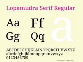 Lopamudra Serif