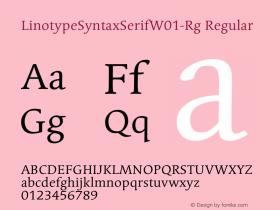 LinotypeSyntaxSerifW01-Rg
