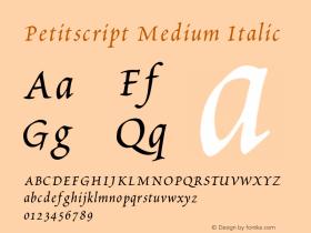 Petitscript