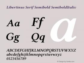 Libertinus Serif Semibold