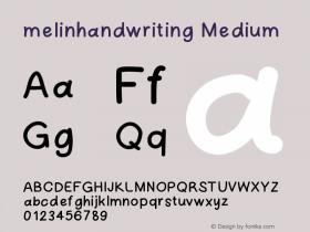 melinhandwriting