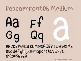 PopcornFont06