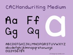 CACHandwriting