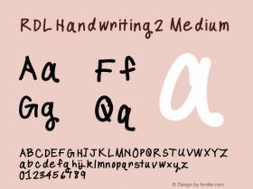 RDLHandwriting2