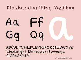 kidshandwriting