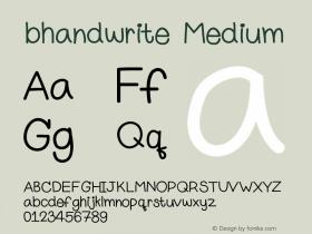 bhandwrite