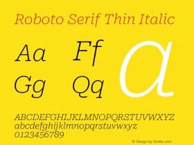 Roboto Serif