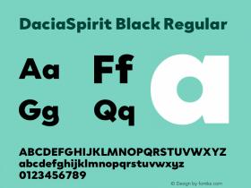 DaciaSpirit Black