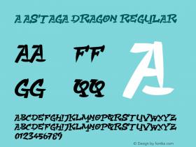 a Astaga Dragon