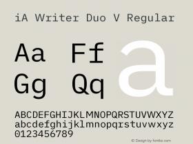 iA Writer Duo V