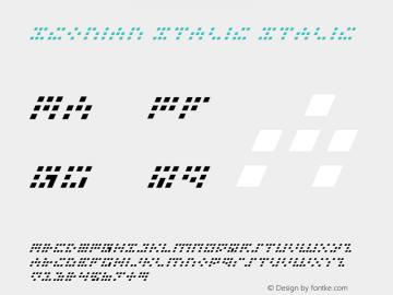 Iconian Italic