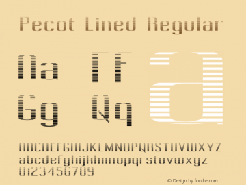 Pecot Lined