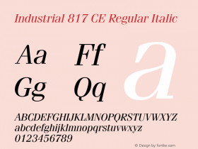 Industrial 817 CE
