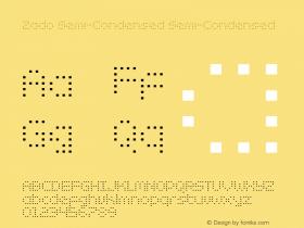 Zado Semi-Condensed