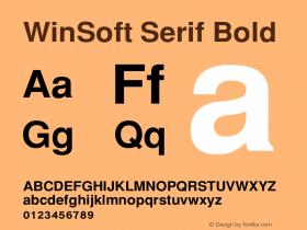 WinSoft Serif