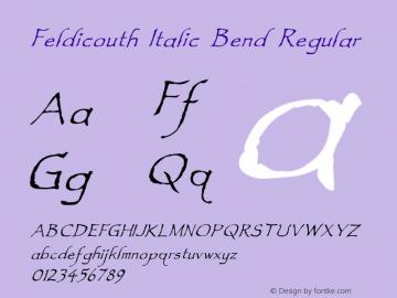 Feldicouth Italic Bend