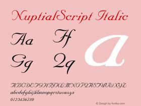 NuptialScript