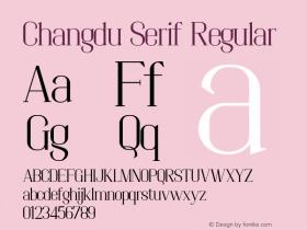 Changdu Serif