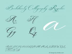 Berlishanty Calligraphy