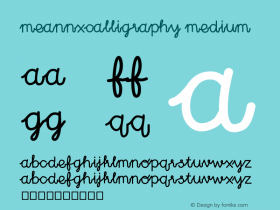 MEANNXcalligraphy