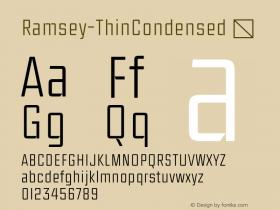 Ramsey-ThinCondensed