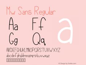 Mw Sans