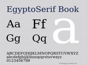 EgyptoSerif