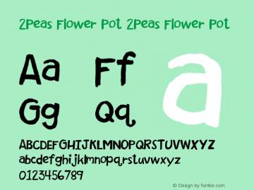 2Peas Flower Pot