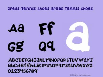 2Peas Tennis Shoes