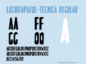 LuchitaPayol-Tecnica