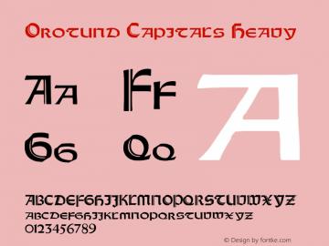 Orotund Capitals