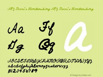 AEZ Traci's Handwriting