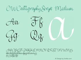 CWCalligraphyScript