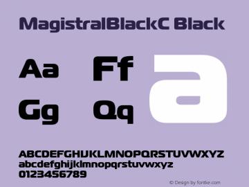 MagistralBlackC