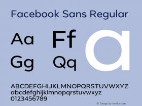 Facebook Sans