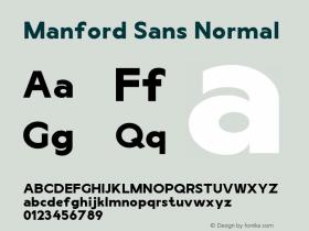 Manford Sans