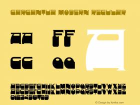 Gargantua Modern
