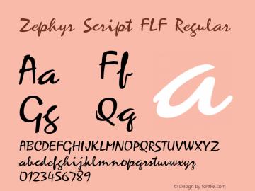 Zephyr Script FLF