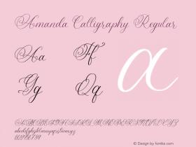 Amanda Calligraphy