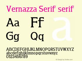 Vernazza Serif