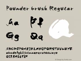 Founder brush